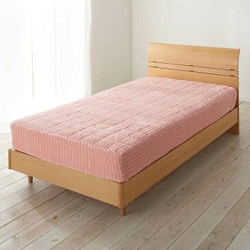 クイーン(暖かさと肌へのやさしさを考えたFUWARMシリーズ ボックスシーツ型敷きパッド) 725693