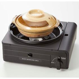 Iwatani/イワタニマルチスモークレスグリルAR1860フジテレビノンストップいいものプレミアムカセットコンロアウトドアおしゃれガスコンロ卓上卓上コンロ焼肉プレート無煙たこ焼き器ガスたこ焼きプレート鍋