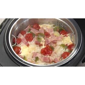 【トマトとベーコンの炊き込みご飯】他にも糖質カットで炊き込みご飯も作れます!