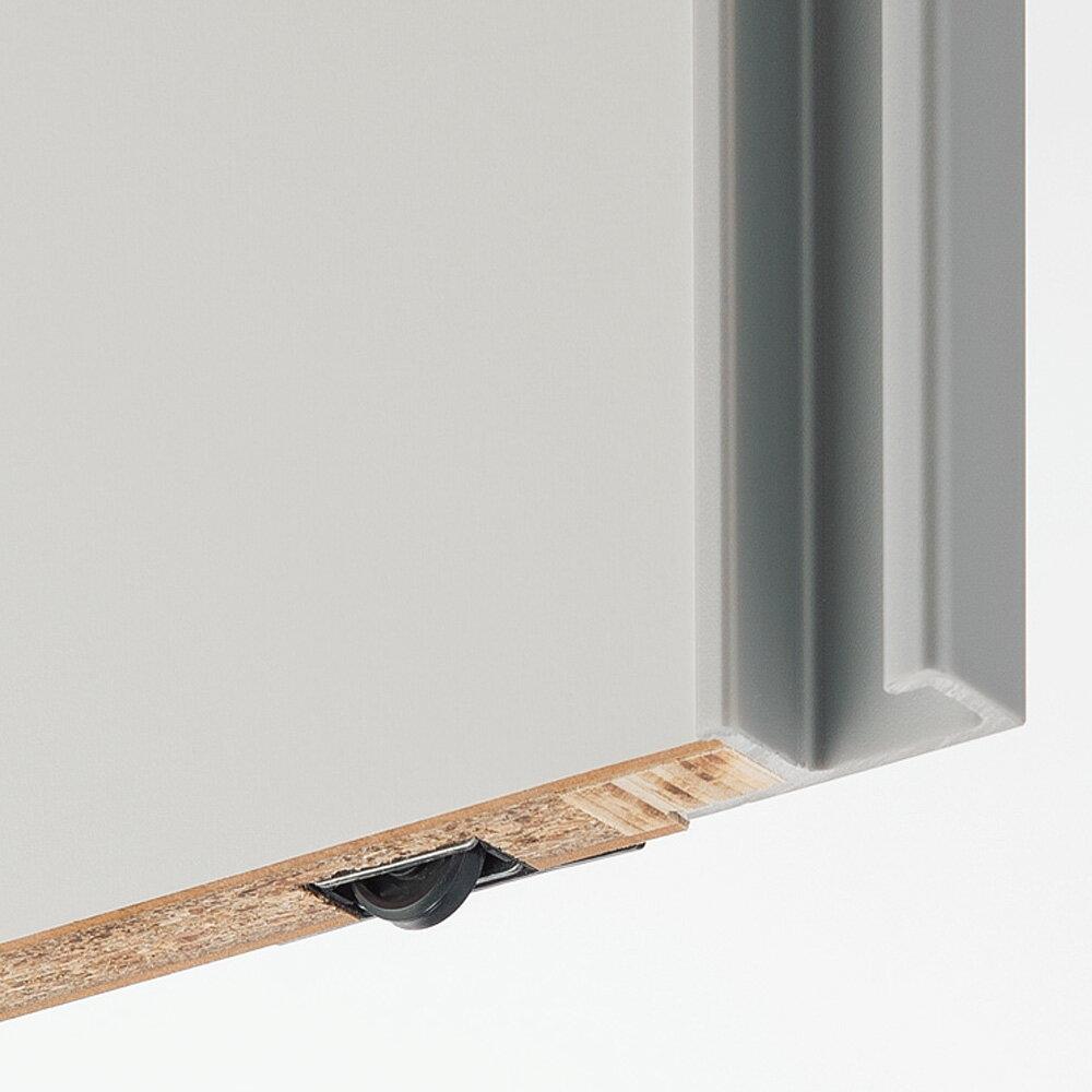 収納性が自慢の引き戸式本棚 幅90本体高さ228cm 665012