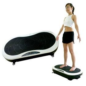 このマシンの上に立つと「下半身の筋トレ」「有酸素運動」「バランス運動」の3つのエクササイズが同時にできる!
