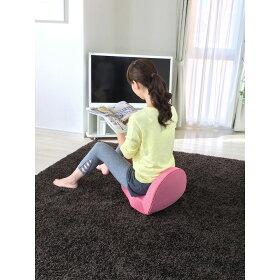 従来モデルから座面が広がり、座り心地がアップ!硬すぎず、柔らかすぎない絶妙なクッション性。長時間座っていても疲れにくく快適。