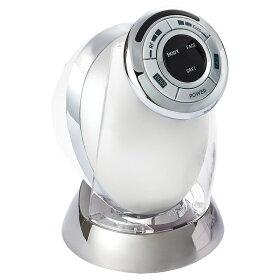 本体にACアダプター、充電台をセット。○充電式のコードレス。3時間充電で約30分使用可能※ACアダプターを差し込みながらの使用はできません。