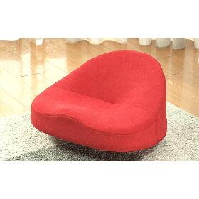 座面にくぼみがあり、座ると骨盤を立たせて美姿勢に!底が不安定なため、座るだけで「バランス運動」ができます。(イ)レッド