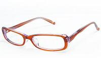 DIRECTGLASSLABOオリジナルプラスチックフレーム240-9オレンジスクエア【メガネ+レンズ+ケース】