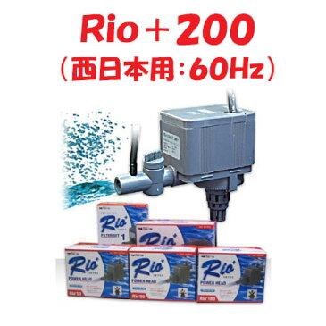 カミハタ Rio+200 水中ポンプ (西日本用:60Hz) リオプラス