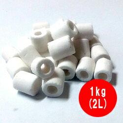 高性能 ろ材 バイオグラス リング ミニ 業務用 1kg(2L)