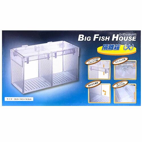 アズー 隔離箱 (大) ビッグフィッシュハウス BIG FISH HOUSE 水槽用 鑑賞魚用