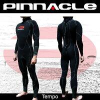 [男性用]PINNACLE[ピナクル]5mmウェットスーツ足首ファスナー付TEMPO[テンポ]ウエットスーツ[フルスーツ]Pinnacleaquatics【RCP】