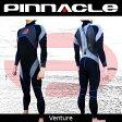 【2017年モデル入荷記念特価!全国送料無料!】[男性用]PINNACLE[ピナクル]3mmウェットスーツ[ベンチャー]チタンコーティング仕様[フルスーツ]Pinnacle aquatics