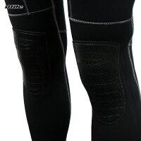 【男性用】dlife[デライフ]5mmウェットスーツ[ブラック/レッドver]手足首ファスナー付[コンチネンタル]