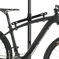 【あす楽!送料無料!】MINOURAミノウラバイクタワー25Dブラック自転車スタンドbiketower25d-BK支柱3分割式天井突っ張り式バイクスタンド
