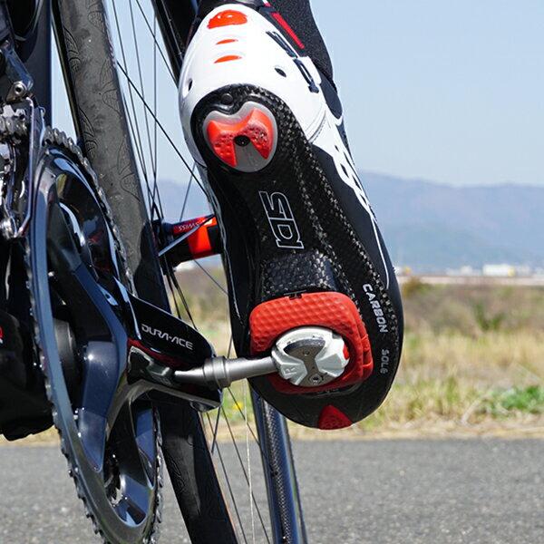 【スーパーセール特価!日本限定モデル!あす楽!全国!】SPEED-PLAY スピードプレイ ZERO ゼロ ステンレスシャフト エアロウォーカブルクリート仕様 自転車ビンディングペダル 日本限定ホワイト/レッド ロードバイク用ペダル