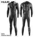 【最終サイズ限定!あす楽!全国送料無料!】男性用 HUUB フーブ トライアスロン用 ウェットスーツ アルファ Alpha トライアスロン専用ウエットスーツ Triathlon Wetsuit メンズ HBMW19505・・・