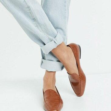 エイソス ASOS asos ASOSDESIGNワイドフィットミンディフラットローファー(タンクロックス) 靴 レディース 女性 インポートブランド 小さいサイズから大きいサイズまで 20代 30代 40代 50代