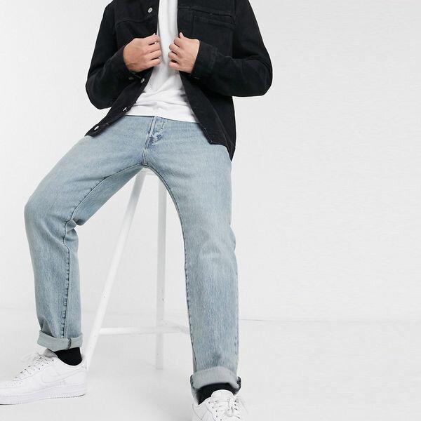 Levi's リーバイス asos ASOS エイソス メンズ Levi's 501 アザミ 微妙 光ウオッシュ '93ストレートフィットジーンズ 大きいサイズ インポート エクストリームスーパースキニーフィット スウェットパンツ ジーンズ ジーパン 20代 30代 40代 ファッション コーディネート