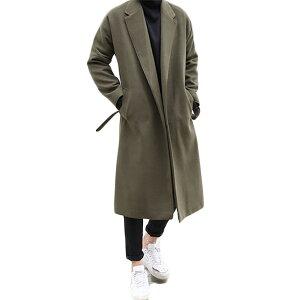 メンズ ロングウールコート アウター ウール カシミヤ トレンチ 上着 アウター カシミヤ オーバーコート コート メンズ ジャケット アウター メンズ 大きいサイズ インポート 20代 30代 40代 ファッション コーディネート オシャレ カジュアル DIVAセレクト