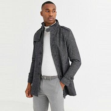ASOSセレクト Selected Homme asos ASOS エイソス メンズ Selected Homme グレー 立ち上がる カラー ウール コート 大きいサイズ インポート エクストリームスーパースキニーフィット スウェットパンツ ジーンズ ジーパン 20代 30代 40代 ファッション コーディネート