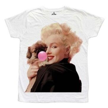 Let's Bubble(レッツバブル)ドック 犬 dog 風船 バブルガム ナルシスト Tシャツ ホワイト 20代 30代 ファッション コーディネート 大きいサイズ 日本未入荷 インポートブランド 半袖 メンズ カジュアル ユニセックス【代引き不可】