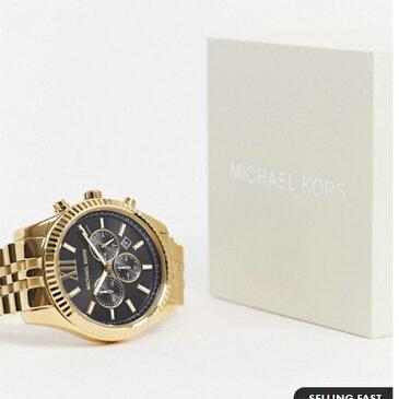 マイケルコース MK8286 レキシントン ブレスレット ウォッチ ゴールド 時計 腕時計 20代 30代 40代 インポートブランド