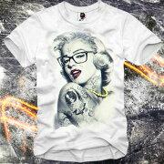 イーワンシジケート マリリン モンロー Tシャツ ファッション コーディネート オシャレ トレンド シンジケート ホワイト セレクト ショップ