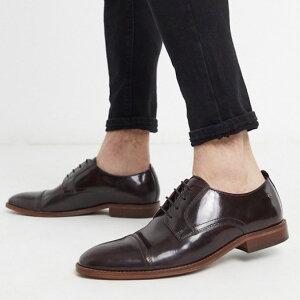 靴 シューズ ASOSセレクト Base london asos ASOS エイソス メンズ レザーシューズ 本革 革靴 ビジネスシューズ フォーマルシューズ スマートシューズ スムースソール 大きいサイズ インポート 20代 30代 40代 ファッション コーディネート