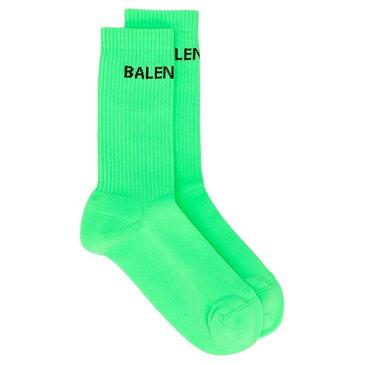 バレンシアガ BALENCIAGA Political ロゴ 靴下 ユニセックス メンズ 男性 インポートブランド 小さいサイズから大きいサイズまで 20代 30代 40代 プレゼント