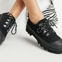 エイソス ASOS asos ASOS DESIGNMiriチャンキーソールフラットシューズ(ブラックキャンバス) 靴 レディース 女性 インポートブランド 小さいサイズから大きいサイズまで