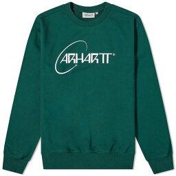 カーハート ワークインプログレス Carhartt WIP カーハートオービットクルースウェット トップス メンズ 男性 インポートブランド 小さいサイズから大きいサイズまで
