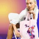 エイソス ASOS asos ASOSDESIGNスペースジャム2ローラバニープリントオーガニックコットンショッパーライラック 鞄 レディース 女性 インポートブランド