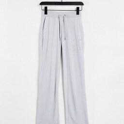 ジューシークチュール Juicy Couture ジューシークチュールコーディネイトアニバーサリーコレクションベロアジョガーパンツグレー パンツ ボトム レディース 女性 インポートブランド 小さいサイズから大きいサイズまで