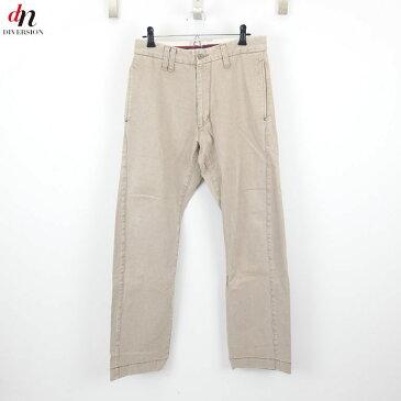 DOARAT ドゥアラット コットン チノパンツ BEIGE S 【中古】 DN-4363