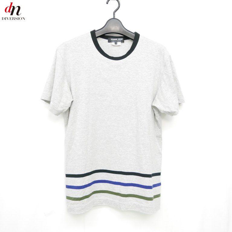 トップス, Tシャツ・カットソー 16SS AD2015 COMME des GARCONS HOMME DEUX T GRAY M DNS-1938