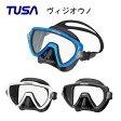 TUSA(ツサ)マスク Visio uno(ヴィジオ ウノ)ブラックシリコーン M-19QB 男性向け一眼マスク・ダイビング・メンズ・シュノーケリング ダイビング マスク
