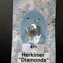 ハーキマーダイヤモンドペンダントヘッドK.Angel'sAAAトリプルAグレード