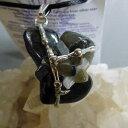 スターシードアミュレットペンダントStarseed天然石&水晶ハンドメイドネックレスパーツ、セレナイトービームオブライト、ラブラドライト、ハイパーステーン、水晶