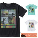 QUIKSILVER クイックシルバー ラッシュガード 子供 半袖 Tシャツ キッズ ジュニア YOUNGER YEARS SS KIDS KLY201122