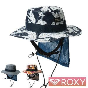 ROXY ロキシー サーフハット レディース サファリハット UVハット ビーチハット サーフキャップ UV WATER CAMP HAT PRT RSA201752