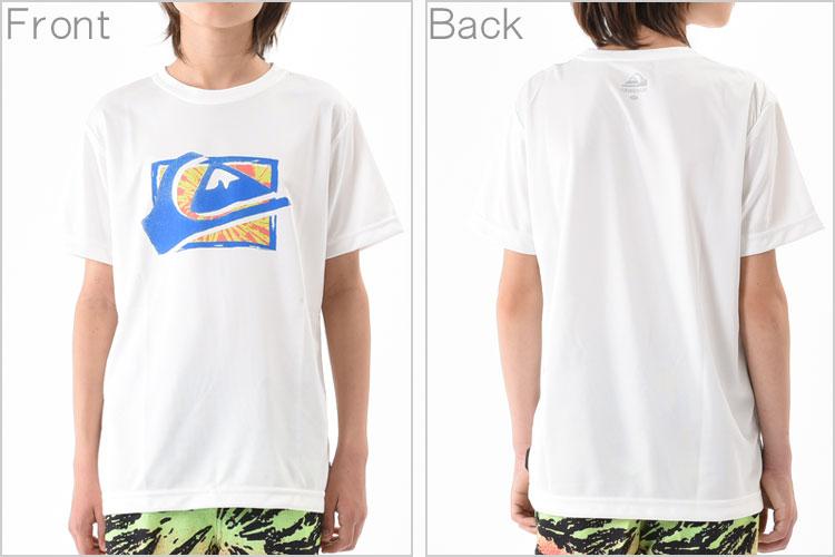 QUIKSILVERラッシュガード(Tシャツ/キッズ)MWSPRAYSURFS/SKIDSWHTKLY161153