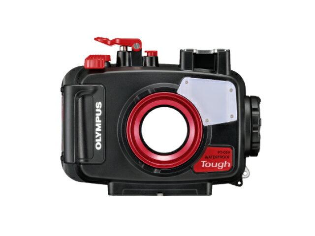 【レンタル】(6泊7日) OLYMPUS(オリンパス) PT-059 防水プロテクター(Tough TG-6対応) ダイビング アウトドア 海水浴 キャンプ レンタル デジカメ オリンパス 水中カメラ コンパクトデジタルカメラ