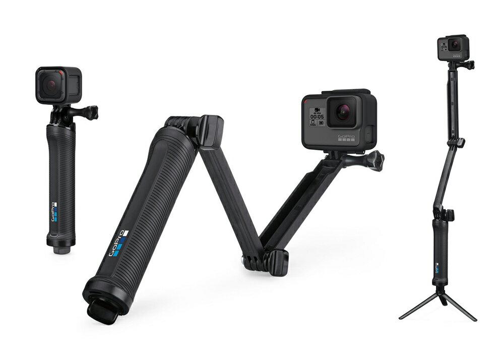 レンタル 【6泊7日】GoPro純正 3way 自撮り棒 ウェアラブル アクション用アクセサリ カメラ 水中カメラ ダイビング GoPro8