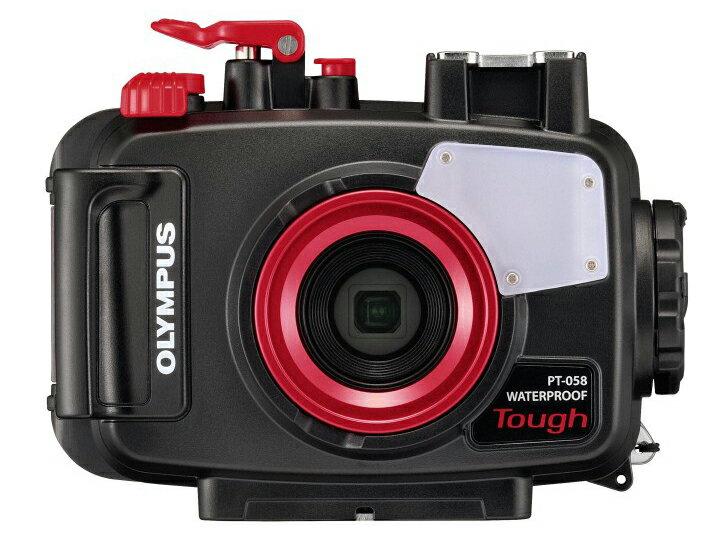 【レンタル】(2泊3日) OLYMPUS(オリンパス) PT-058 防水プロテクター(Tough TG-5対応) ダイビング アウトドア 海水浴 キャンプ レンタル デジカメ オリンパス 水中カメラ コンパクトデジタルカメラ