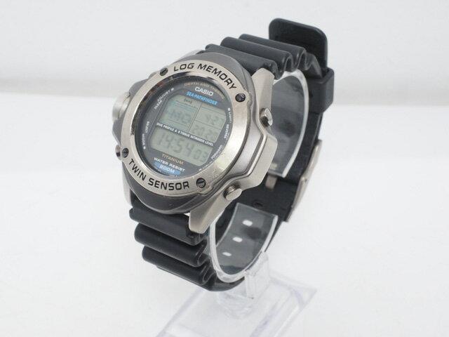 CASIO Pathfinder USED CASIO LOG MEMORY SEA-PATHF...