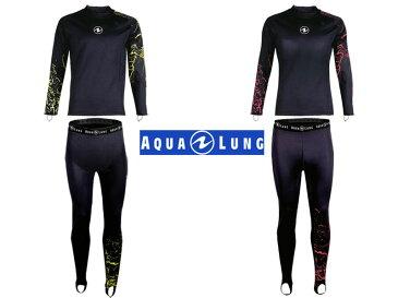 AQUALUNG (アクアラング) CERAMIQSKIN セラミックスキン 長袖+ロングパンツ LONG PANTS [434151-434159] ダイビング用ラッシュガード スキューバダイビング スノーケリング スキンダイビング