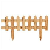 【8月下旬入荷予定】☆新商品☆サイプレス製木製ミニガーデンフェンス(ピケットフェンス)(幅600×奥行20×高さ340mm)(約1.5kg)