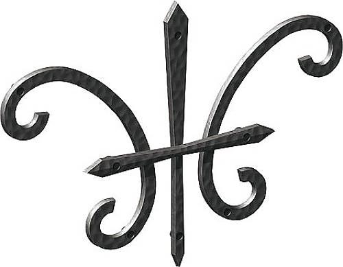 アルミ鋳物 妻飾り(オーナメント) 壁飾り27型(BEP-27)