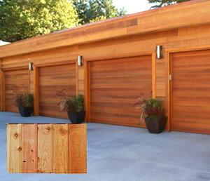 レッドシダー 木製外壁材 サイディング 内装外壁 木材パネル・チャネルサイディング 約16×121mm×乱尺(1820〜4880mm)(5.6k)【節付】【平米単位での販売】CH-16121