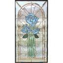 【送料無料】【代引不可】 ステンドグラス (SH-A20) 一部鏡面ガラス 913×480×18mm (約13kg) ピュアグラス Aサイズ メーカー在庫限り ※代引不可・・・