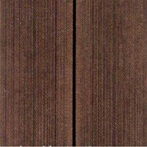【人工木】【樹脂木】【ウッドデッキ】ハンディウッド・置くだけデッキEタイプスタンダード300×300×50mm11枚セット(16.5kg)
