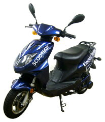 排気画ガス0のクリーンスクーター!激安!【スクーテック】 電動バイク、電気バイク、電気自動...